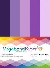 "Premium Quality 8.5"" x 11"" PURPLE CARDSTOCK PAPER - 20 Sheets"