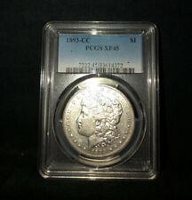 1893-CC Morgan Dollar - XF45