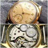 ✩ Vintage CHs TISSOT & FILS cal.27B-1 SWISS MADE 50s old wrist watch 15 Jewels