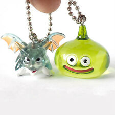 Square Enix SQEX Toy Dragon Quest Crystal Monster 3 Slime Green Keychain 2 Pcs.