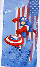 Hasbro Telo Mare Avengers 70/x 140/cm Blu Taglia Unica
