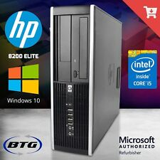 Fast HP Desktop Computer Intel i5 Quad Core 3.2GHz 4GB 500GB Windows 10 32 Bit
