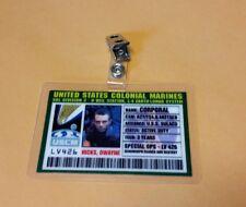 Aliens Id Badge-United States Colonial Marines Hicks