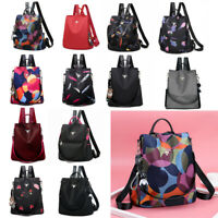 2019 Women Sequin Oxford Rucksack Backpack Anti-theft Shoulder Bag With Pendant