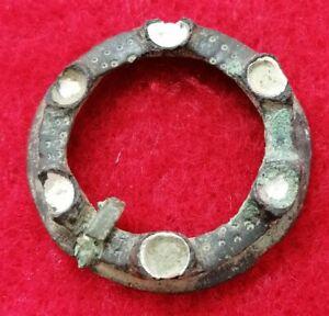 Medieval Ring Turret Brooch