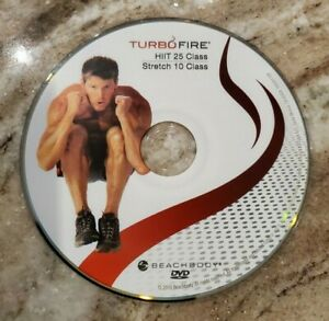 TURBO FIRE - Chalene Johnson -HIIT 25, STRETCH 10 - DVD Replacement Disc