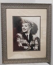 "1942 B&W Photograph LUCILLE BALL ""LUCY"" Matted & FRAMED 19 x 23"""