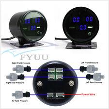 "Car SUV 2.5"" Air Pressure Gauge PSI Meter With 1/8NPT Electronic Pressure Sensor"