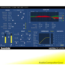 Eventide UltraReverb Native H8000-Based Reverb Audio Software Plug-in NEW