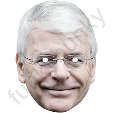 John Major Politician Political Card Mask - All Our Masks Are Pre-Cut!