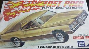 MPC 4170-150 1970 Pontiac Grand Prix FAST PACK 1/25 McM KIT NIOB SI