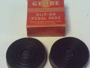 Vintage Replacement Slip-On Pedal Pads 30's & 40's Ford, Lincoln, Studebaker