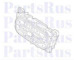 Genuine Smart Fortwo Heater Control Switch Block 4539051200