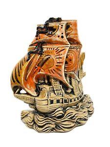 Ceramic Fish Tank Bowl Decoration Pirate Ship