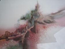 Kunstdruck Deidre Heller City of Dreams in Alu-Rahmen Nielsen