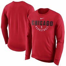 Nike Chicago Bulls Practice Fleece Performance Sweatshirt 877797-657: Size LT