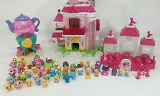 Squinkies lot: Barbie Dream House Stables Teapot Playset, over 50 Squinkies
