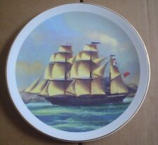Un Named Collectors Plate Ship CLIPPERS COLLECTION GEELONG