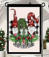 Merry Everything GnomesGarden Flag * Top quality *Double Sided * By Flags Galore