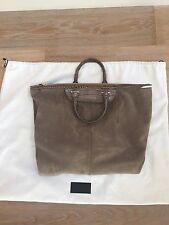 Alexander Wang Grey Suede Tote Bag