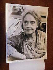 1978 Lillian Gish Rare Appearance in Sparrow CBS TV Promo Photo A6