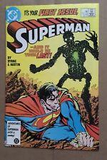 SUPERMAN #1 1986 VF/NM-