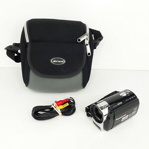 Panasonic SDR-S26 SDHC Camcorder- 70 x Optical Zoom YouTube With a Bag - Tested