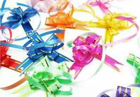 "PACK LOT SMALL 2.5"" PULL BOWS ribbon craft holiday gift box present wrap lazo"