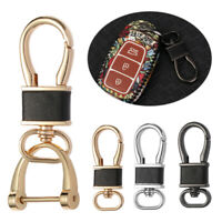 Key Organizer Leather Bag Pendant Keychain Auto Vehicle Key Ring Car Key Holder