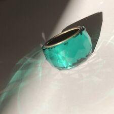 swarovski originale ring anello 55 smeraldo verde green cristallo