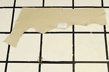 "Stunning ""Country Inn"" Beige Scrap Leather Hide Approx. 2.75 sqft. Q3Z10-7"