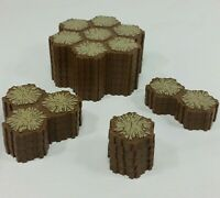 Heroscape Tile Sand Terrain Tan Brown Lot of 72 Hexes From Rise Of The Valkyrie