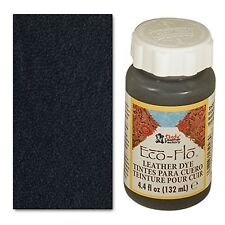 Eco-flo Coal Black Leather Dye 4 Oz 2600-01 by Tandy Leather