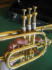 King 603 Tempo II Cornet with Case and MP - EXCELLENT+ Refurbished Play Ready