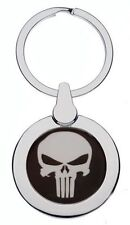 THE PUNISHER CHROME KEYRING