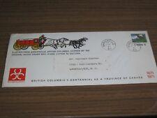 Canada, carta especial a 100 años British Columbia, foto