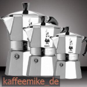 Bialetti Moka Express Aluminium Espressokocher verschiedene Größen -Top Angebot