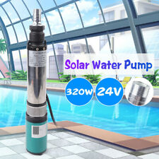 Dc 24V 320W Stainless Steel Electric Deep Well Pump Solar Water Pumps 5m³/H 25M