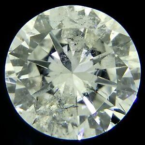 Round Brilliant Cut Diamond G I2 0.39ct natural loose diamonds