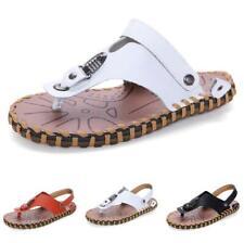 Summer Mens Beach Thong Clip Toe Slippers Shoes Walking Sports Non-slip Casual L