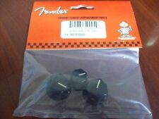 Genuine American Fender Skirted Knob Set 4 USA Jazz Bass Split & Solid Shaft Pot