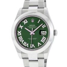 Rolex Stainless Steel DateJust Men's Watch Lot 386