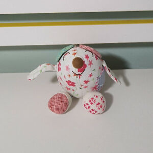 MOUSEY HALLMARK PLUSH TOY! SOFT TOY ABOUT 11CM TALL EMILY BUTTON PATTERNED MOUSE