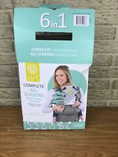 Lillie Baby Complete All Seasons Baby Carrier Newboen-Toddler All In One New!