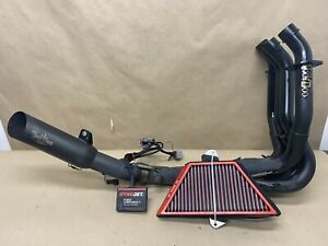 2015 Kawasaki ZX14R VooDoo full exhaust system, Power Commander V, BMC filter