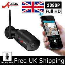 ANRAN 1080P Wireless Security IP Camera System HD CCTV Outdoor HD 2Way talk APP