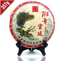 2006 yr Yunnan Ban Zhang Gong Ting Ripe Puer 357g, Chinese Menghai Shu Puerh Tea