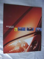 Renault Scenic Prospekt / Brochure / Depliant, Belgien / Luxemburg, 12.2001