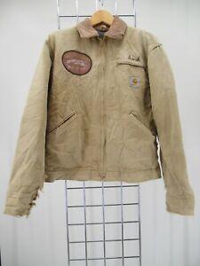 K0100 VTG Carhartt Men's Blanket Line Work Jacket Size 38