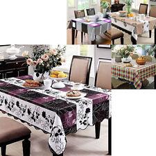 Floral & Nature PVC Table Cloths